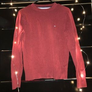 Red Tommy Sweater